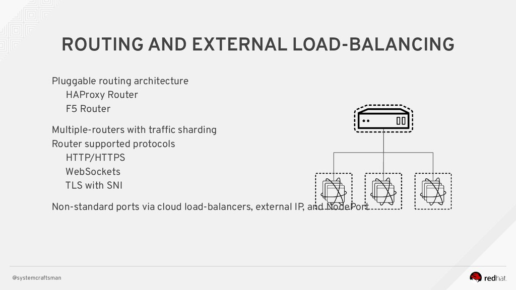 @systemcraftsman ROUTING AND EXTERNAL LOAD-BALA...
