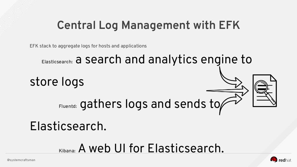 @systemcraftsman Central Log Management with EF...