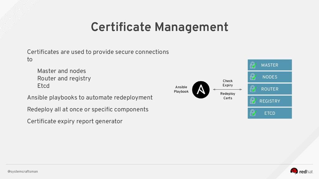 @systemcraftsman Certificate Management Check Ex...