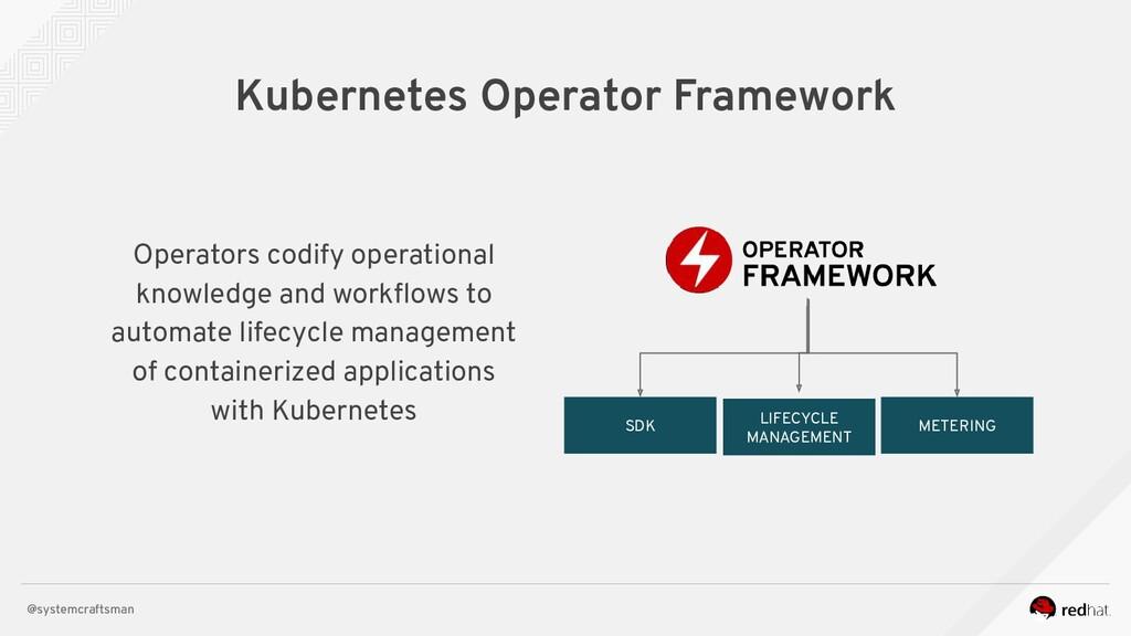 @systemcraftsman Operators codify operational k...