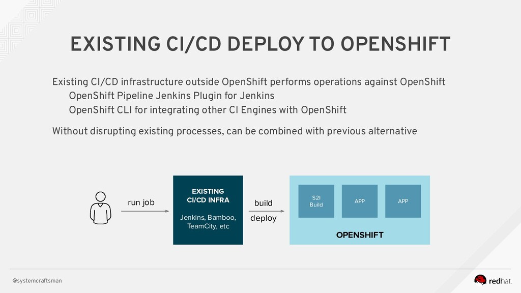@systemcraftsman EXISTING CI/CD DEPLOY TO OPENS...