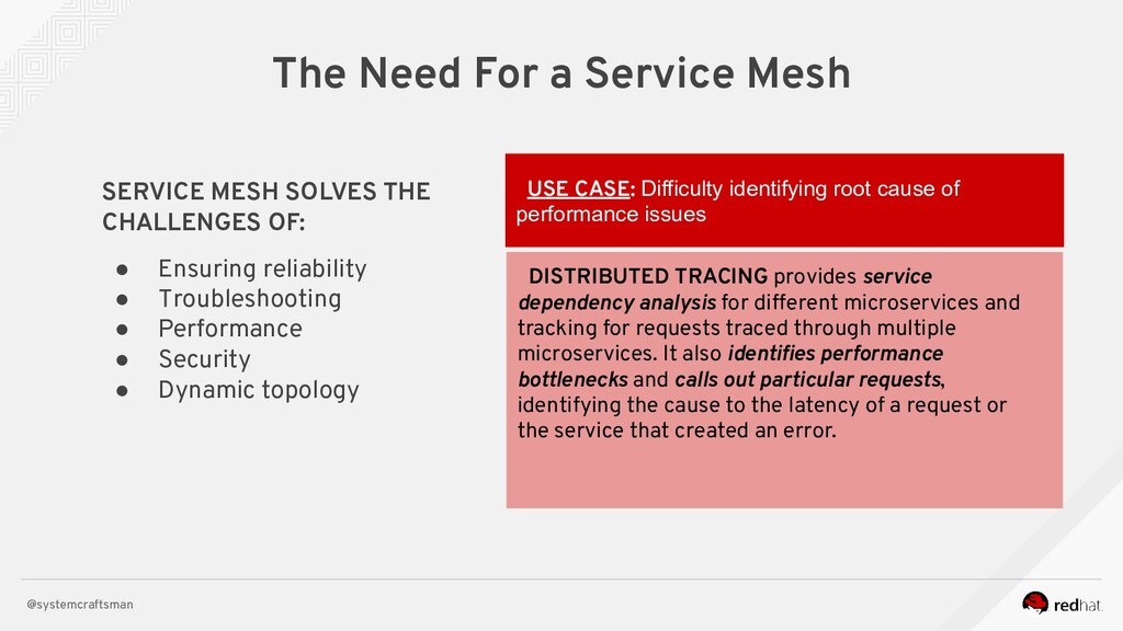 @systemcraftsman The Need For a Service Mesh SE...