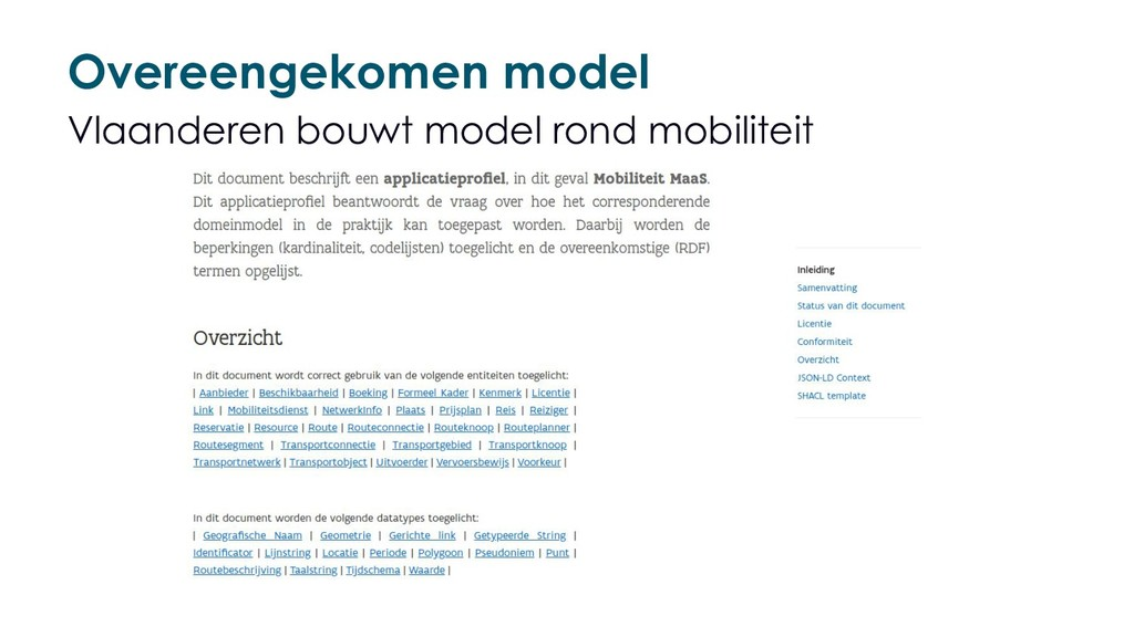 Overeengekomen model Vlaanderen bouwt model ron...