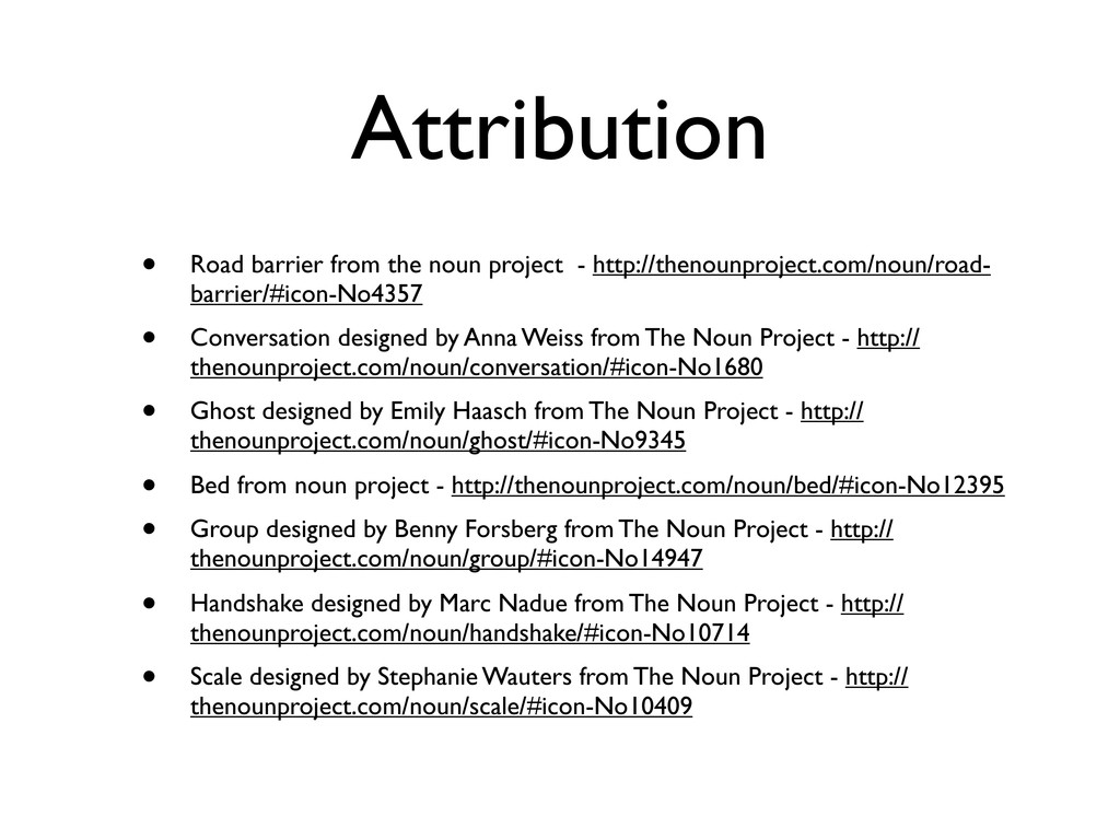 Attribution • Road barrier from the noun projec...