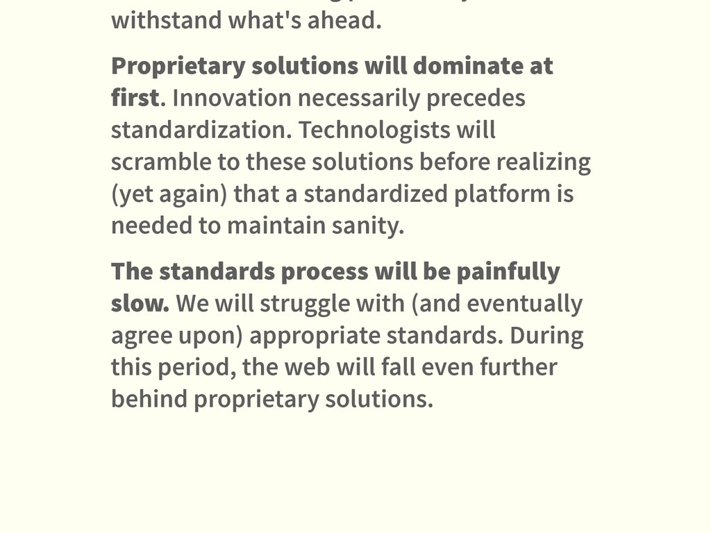 withstand what's ahead. Proprietary solutions w...