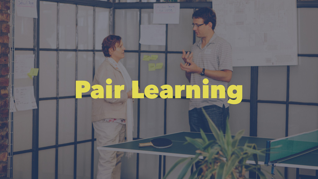 Pair Learning