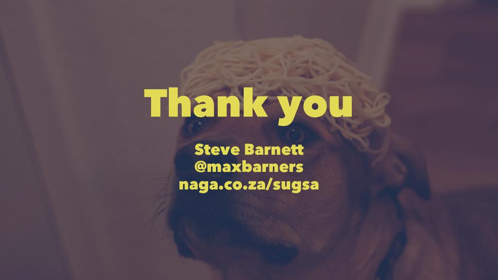 Thank you Steve Barnett @maxbarners naga.co.za/...