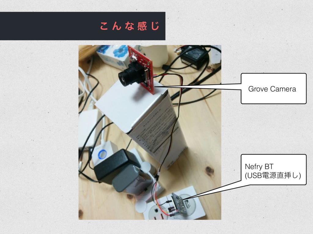 ͜ Μ ͳ ײ ͡ Grove Camera Nefry BT (USBిݯૠ͠)