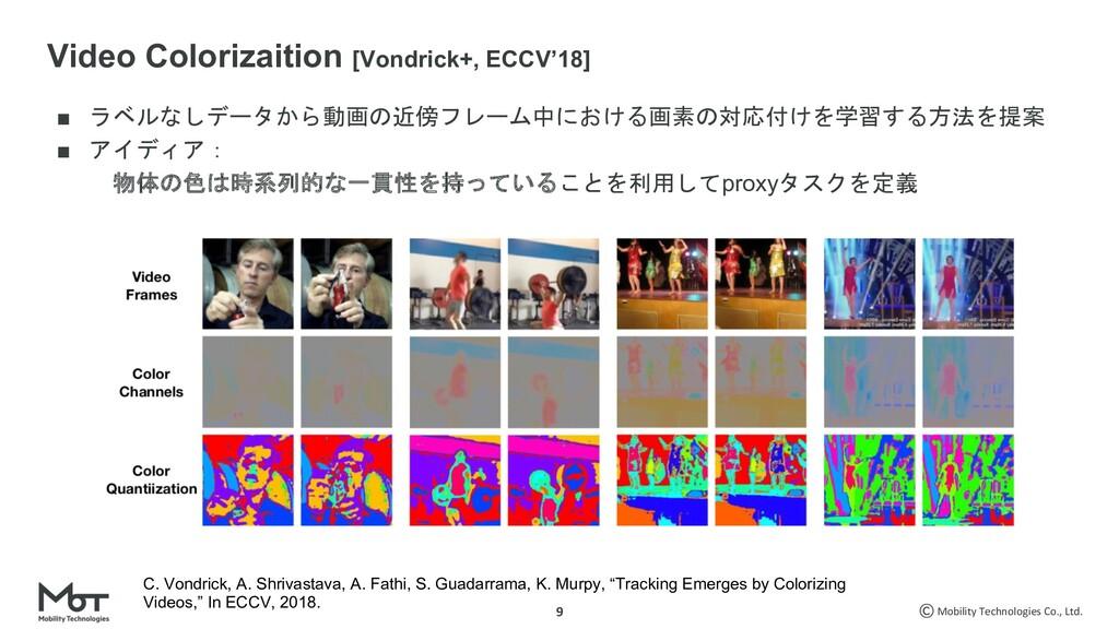 Mobility Technologies Co., Ltd. 9 ■ '...