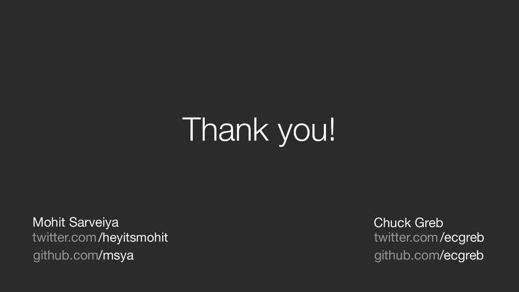 Thank you! Thank you! twitter.com/heyitsmohit /...