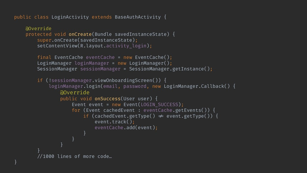 public class LoginActivity extends BaseAuthActi...