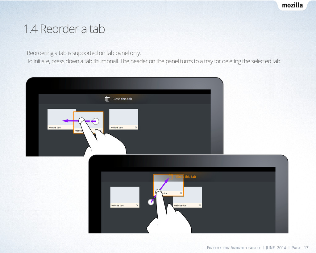 Firefox for Android tablet | JUNE 2014 | Page 1...