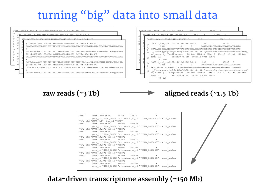 "turning ""big"" data into small data @22:16362385..."