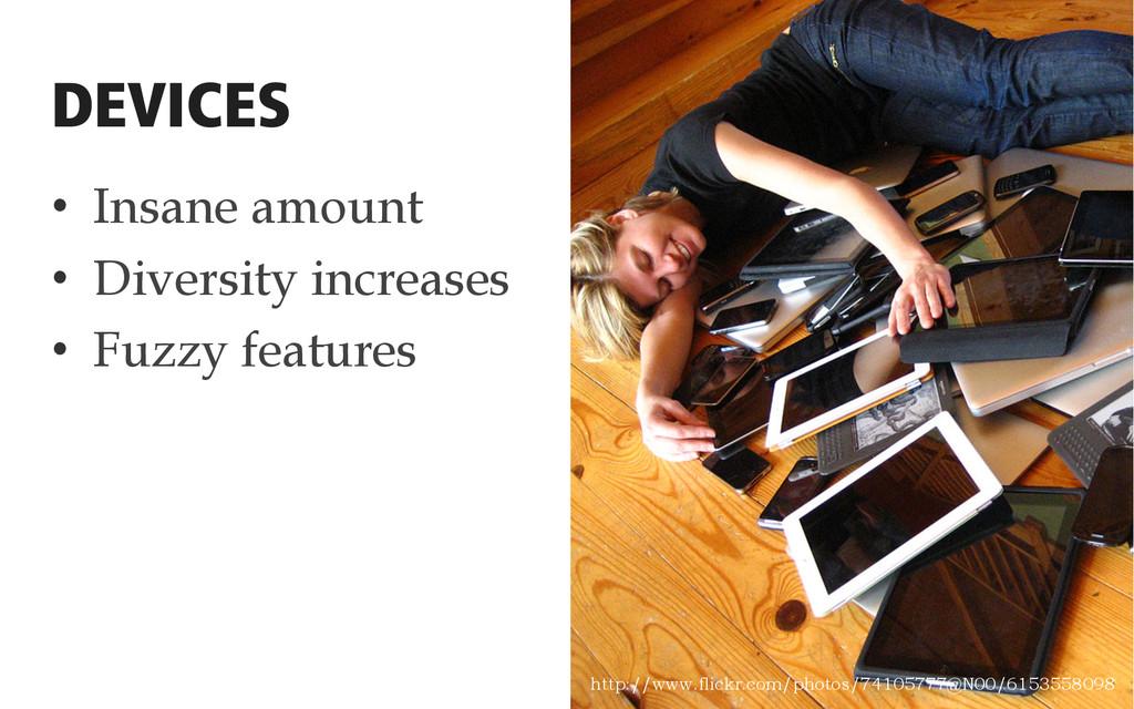 • Insane amount • Diversity increases • Fuzz...