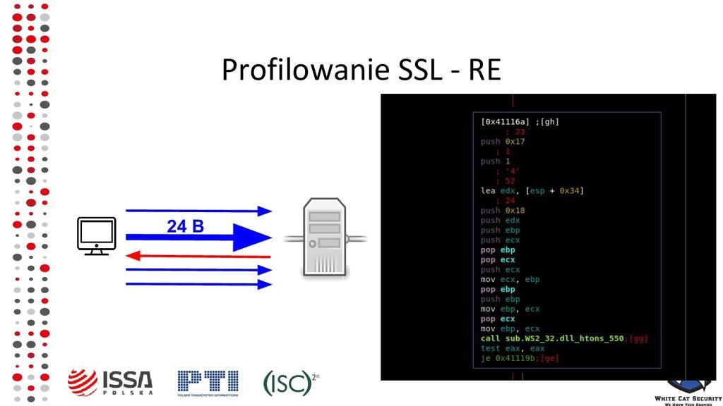 Profilowanie SSL - RE 24 B