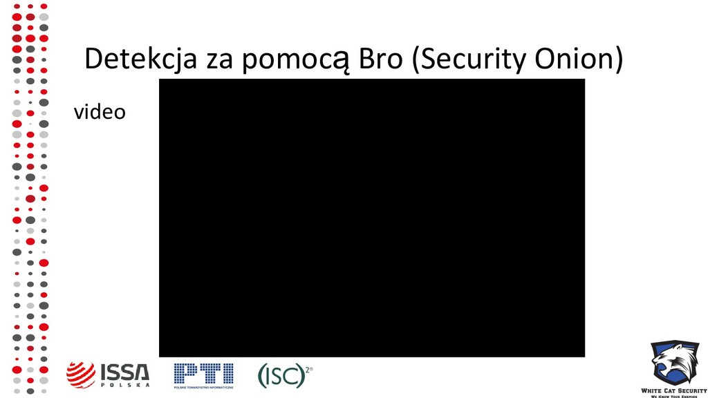 Detekcja za pomocą Bro (Security Onion) video