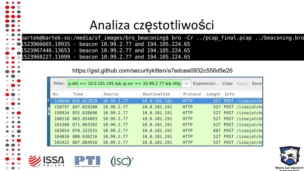 Analiza częstotliwości https://gist.github.com/...
