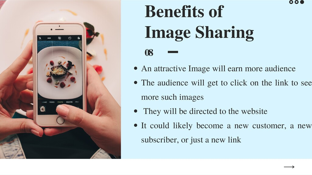 Benefits of Image Sharing 08 An attractive Imag...