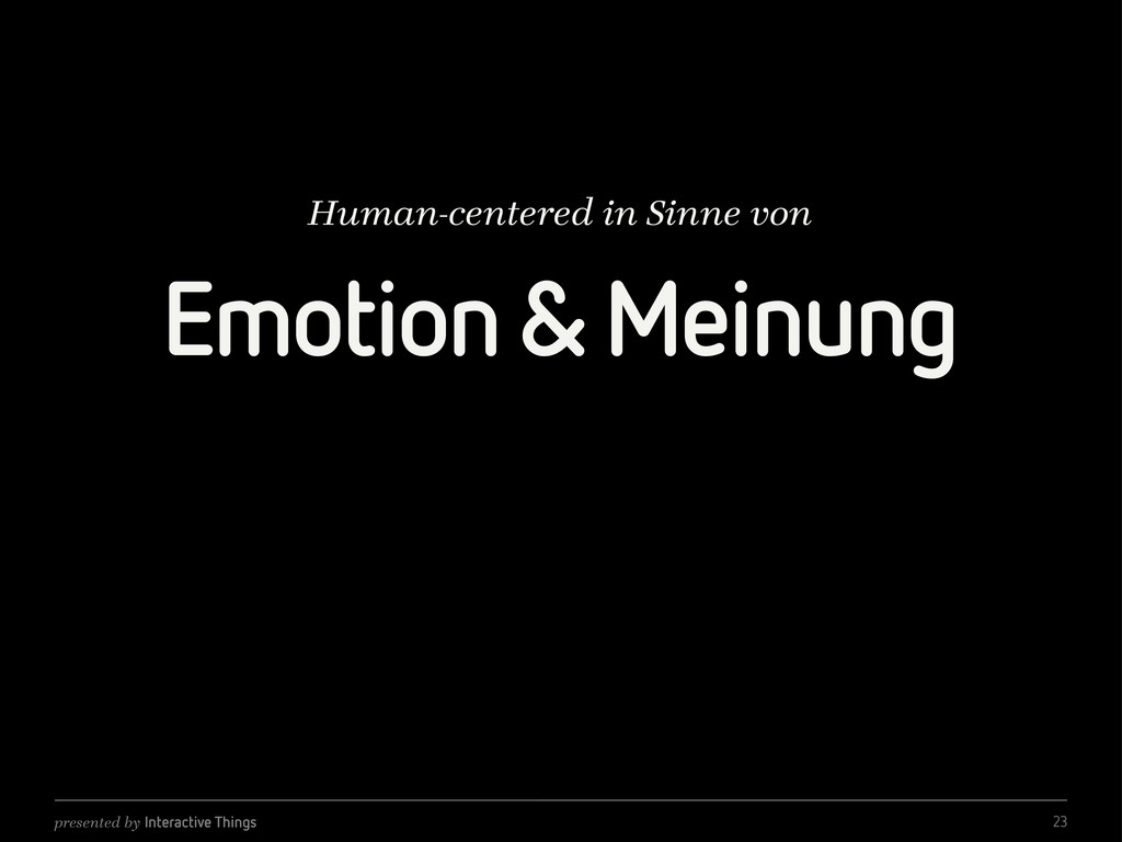 presented by Interactive Things Emotion & Meinu...