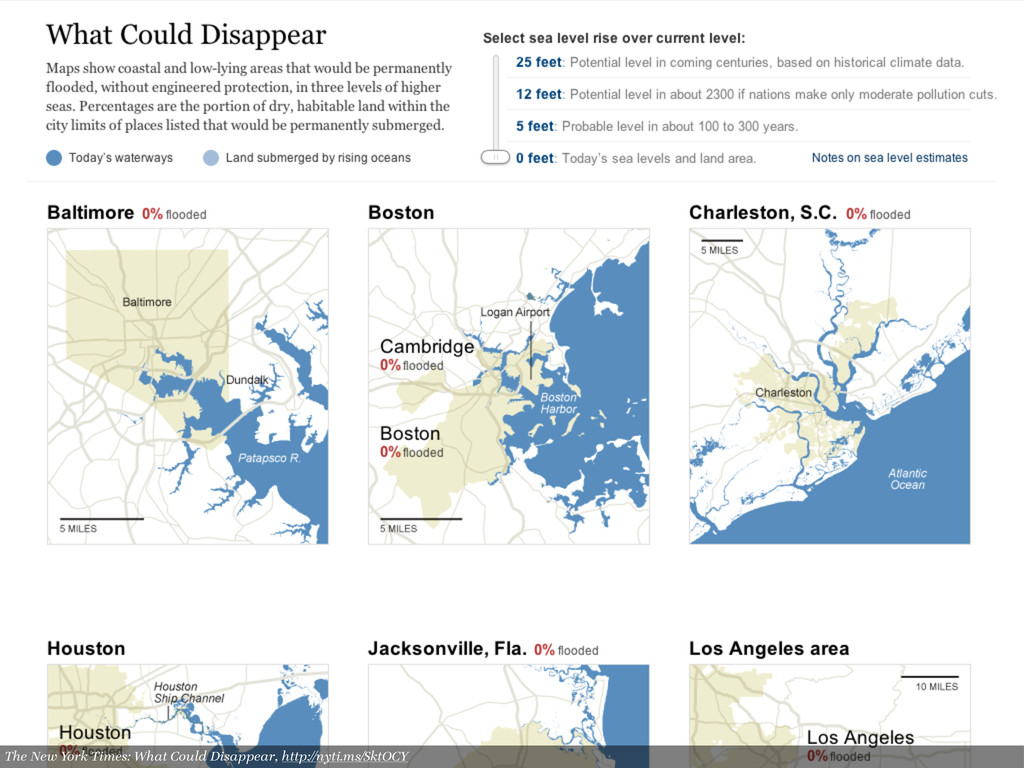The New York Times: What Could Disappear, http:...