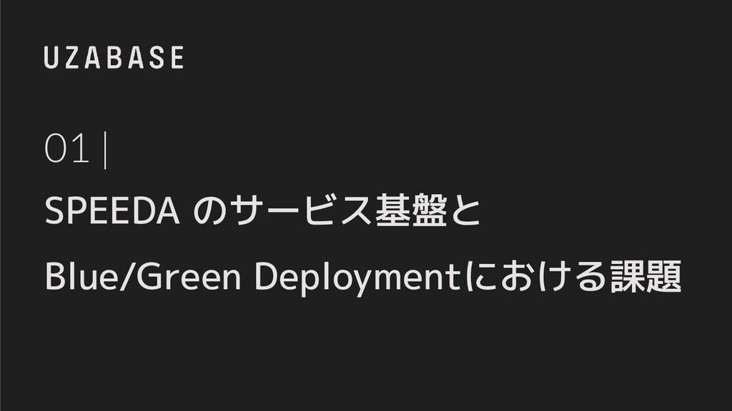 01 | SPEEDA のサービス基盤と Blue/Green Deploymentにおける課題