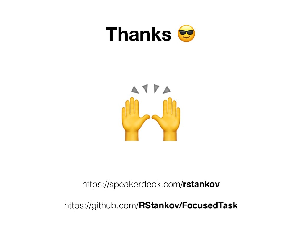 Thanks ' https://speakerdeck.com/rstankov https...