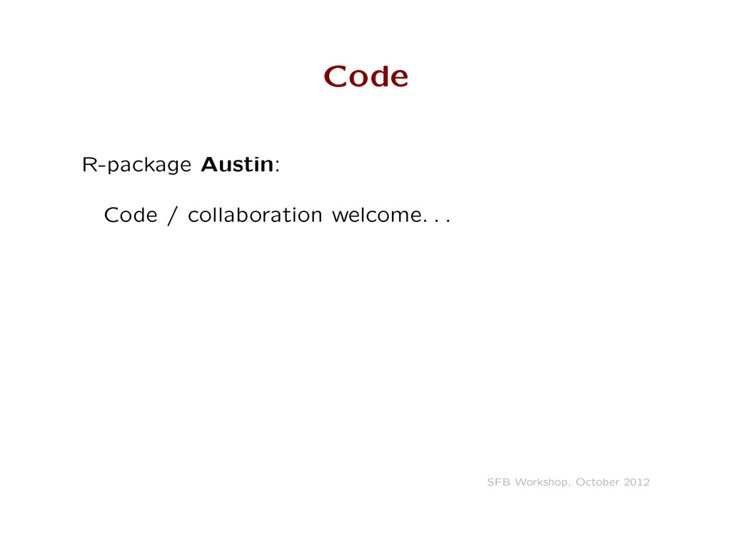 Code R-package Austin: Code / collaboration wel...