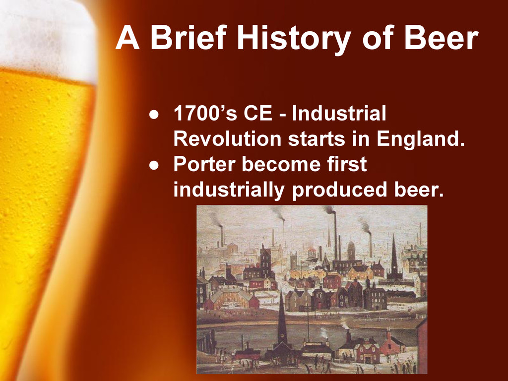 Free Powerpoint Templates A Brief History of Be...