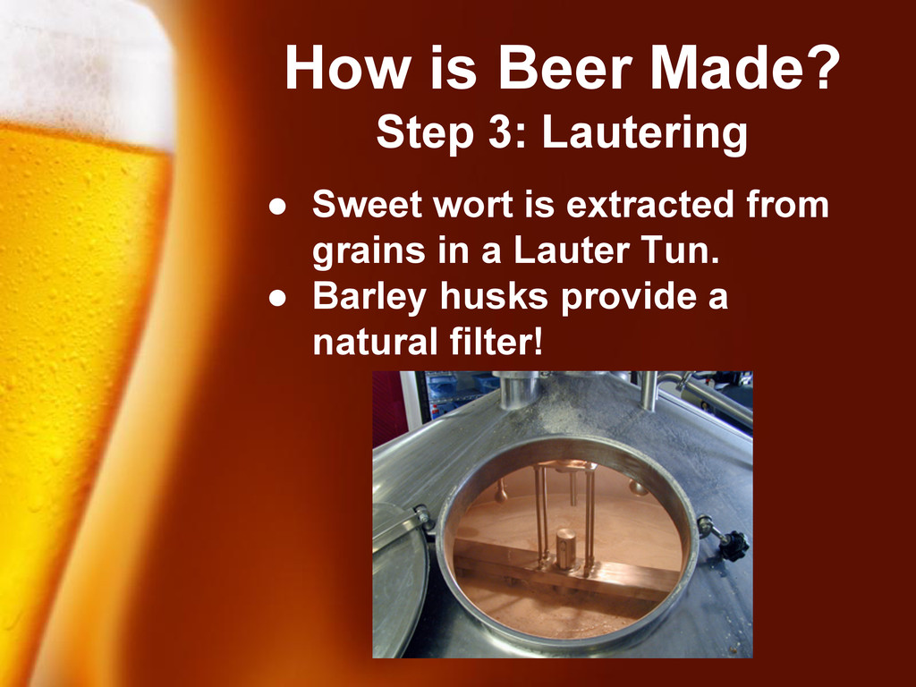 Free Powerpoint Templates How is Beer Made? Ste...