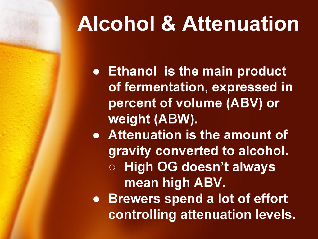 Free Powerpoint Templates Alcohol & Attenuation...