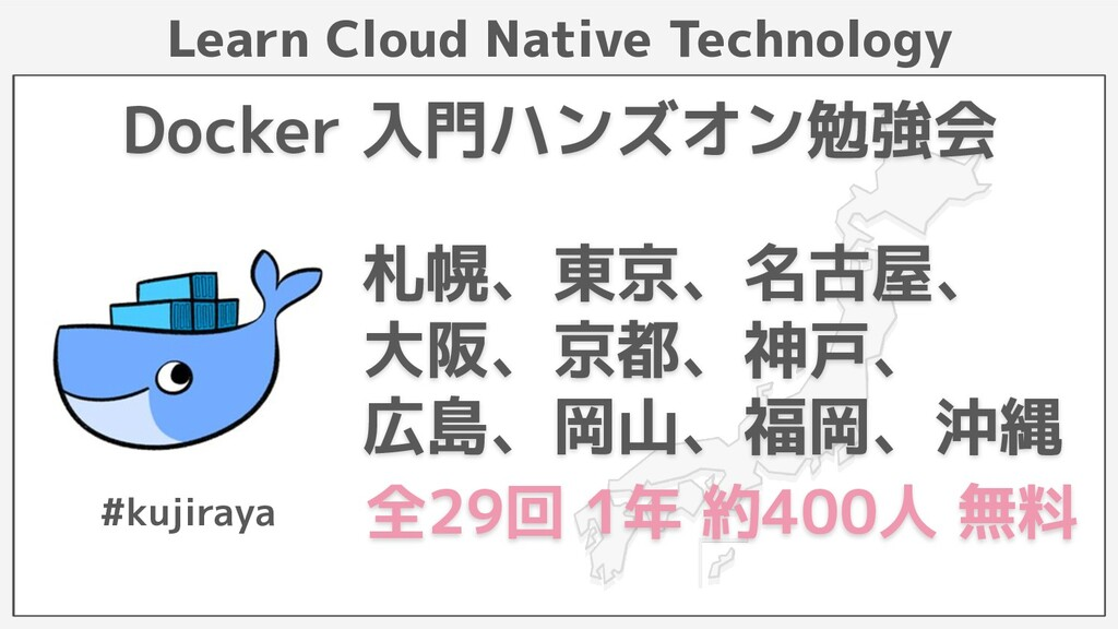 Learn Cloud Native Technology Docker 入門ハンズオン勉強会...