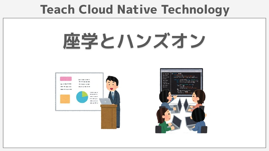 Teach Cloud Native Technology 座学とハンズオン
