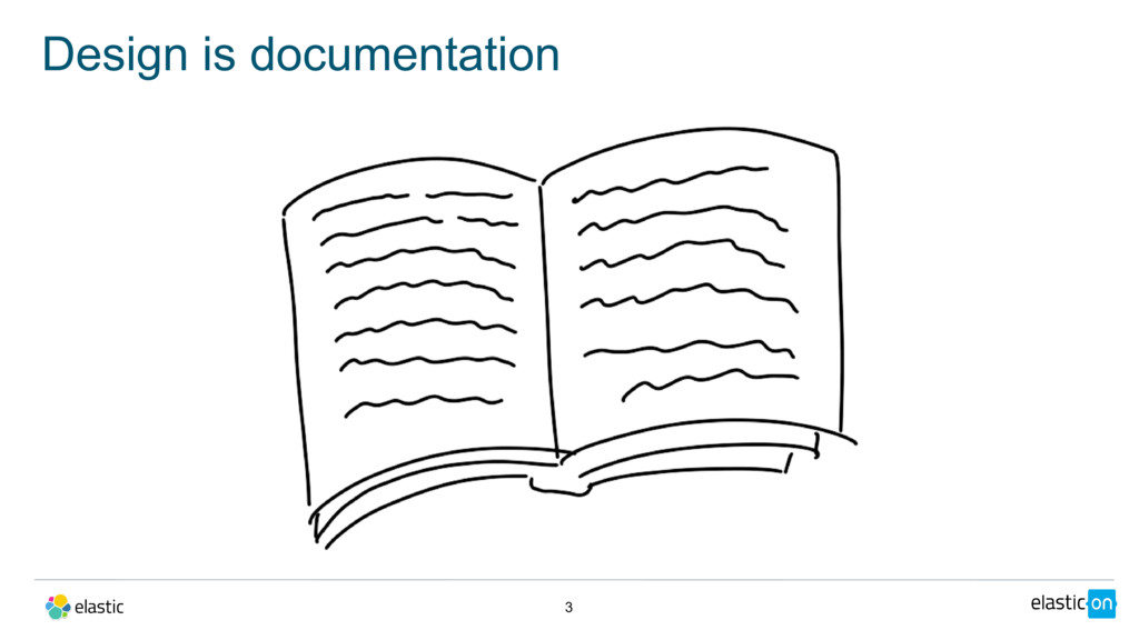 Design is documentation 3