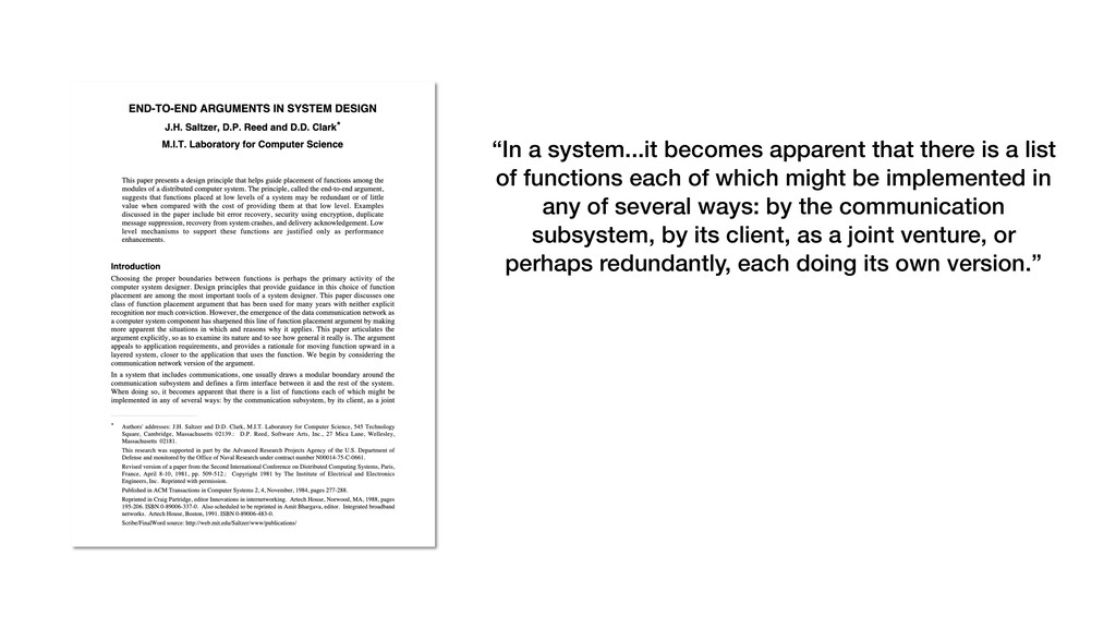 """In a system...it becomes apparent that there i..."