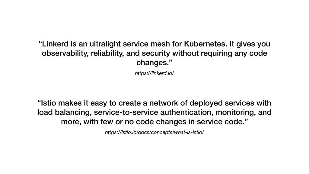 "https://linkerd.io/ ""Linkerd is an ultralight s..."