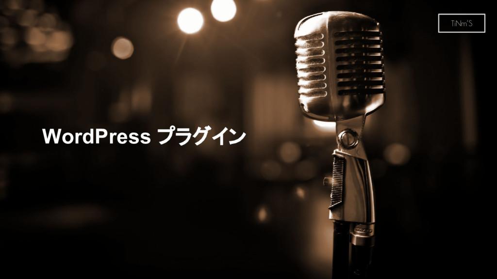 TiNm'S WordPress プラグイン