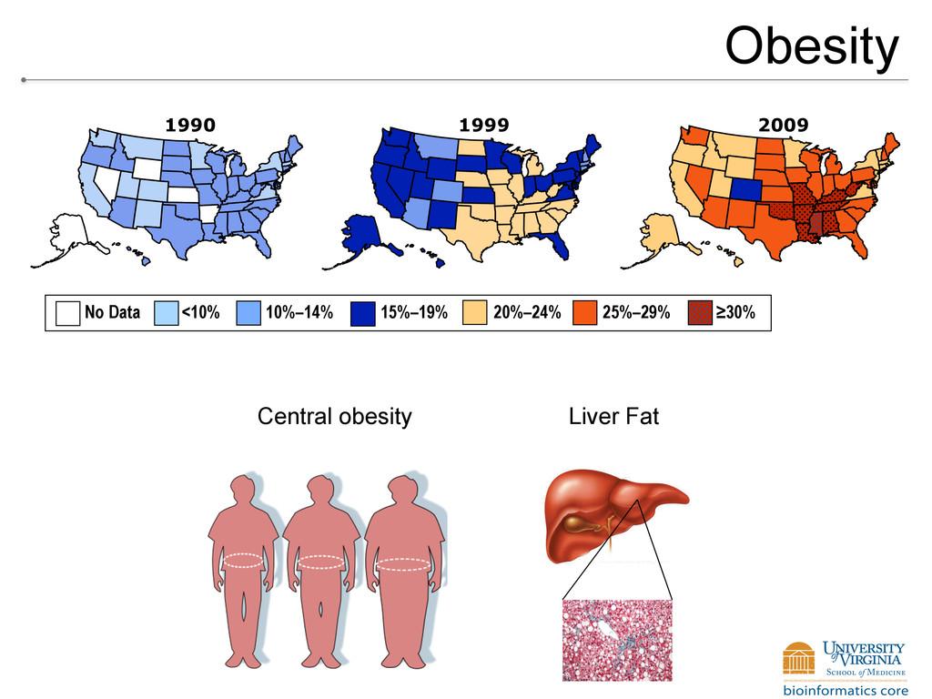 Obesity No Data <10% 10%–14% 15%–19% 20%–24% 25...