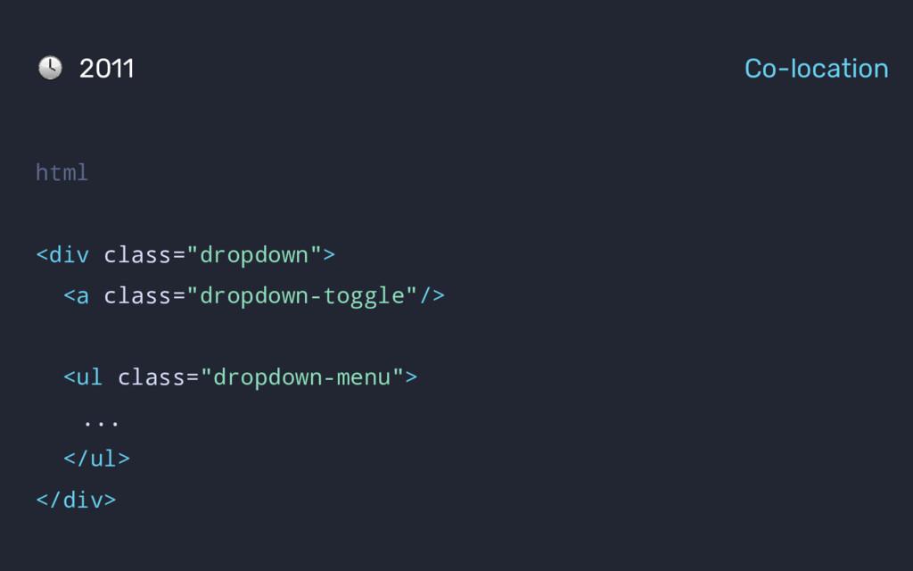"html <div class=""dropdown""> <a class=""dropdown-..."