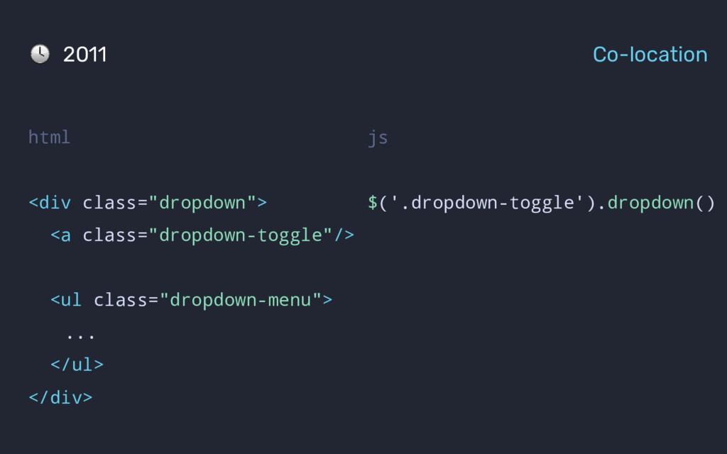 js $('.dropdown-toggle').dropdown() html <div c...