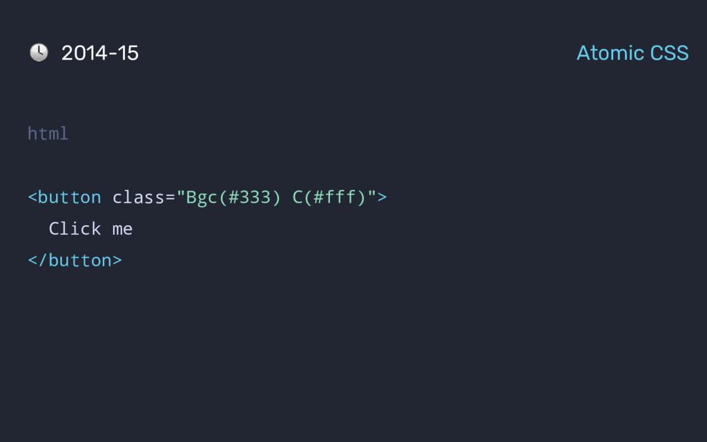 """html <button class=""""Bgc(#333) C(#fff)""""> Click m..."""