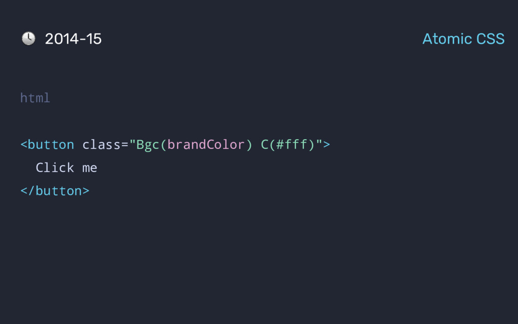 "2014-15 Atomic CSS html <button class=""Bgc(bran..."