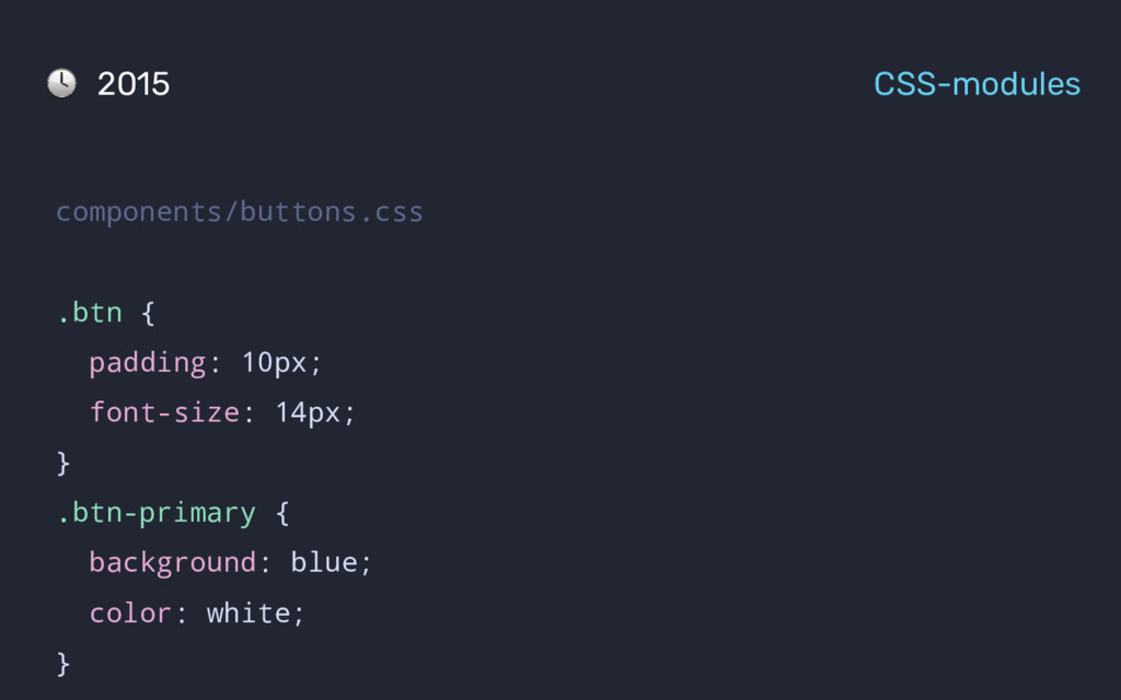 components/buttons.css .btn { padding: 10px; fo...