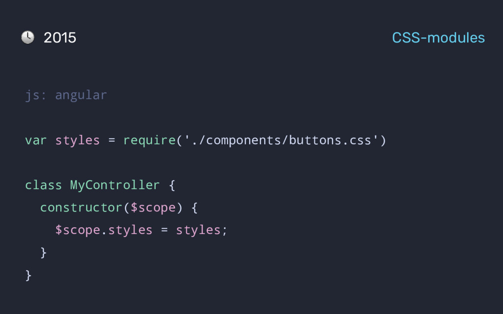 js: angular var styles = require('./components/...