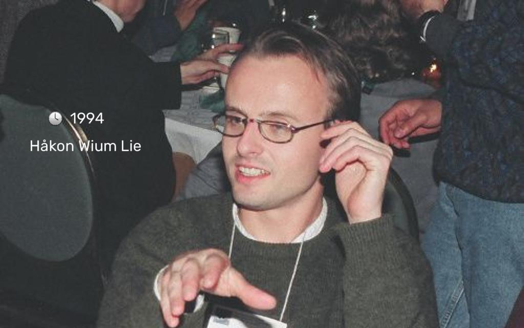 1994 Håkon Wium Lie