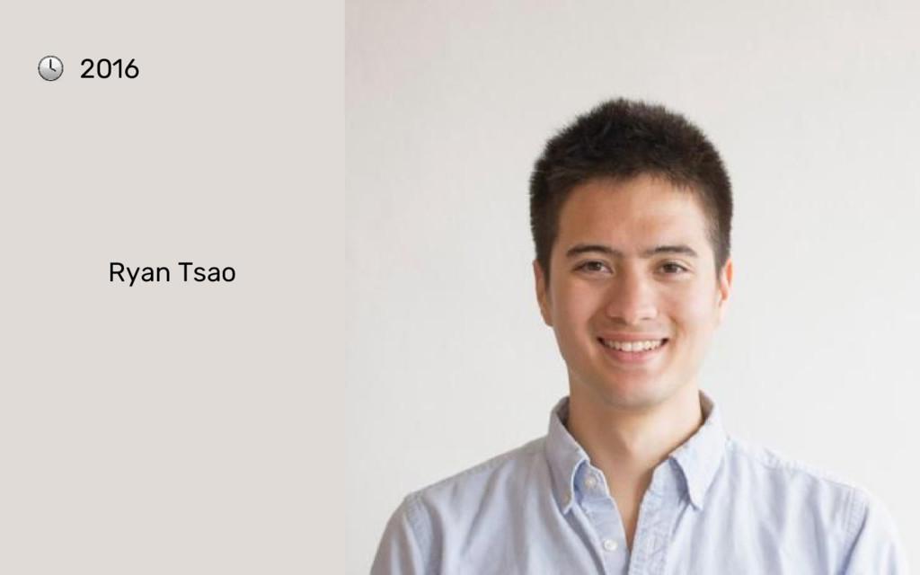 Ryan Tsao 2016