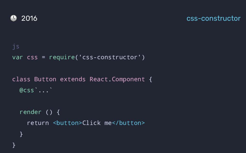 js var css = require('css-constructor') class B...
