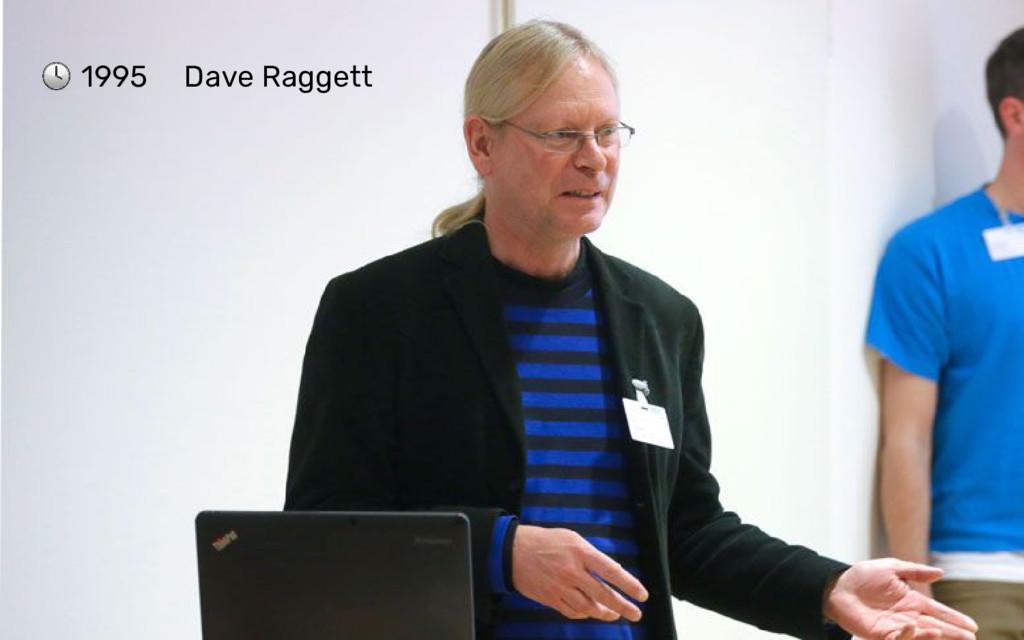 1995 Dave Raggett