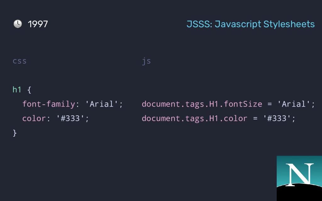 js document.tags.H1.fontSize = 'Arial'; documen...