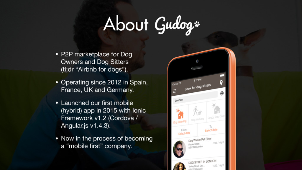 • P2P marketplace for Dog Owners and Dog Sitter...