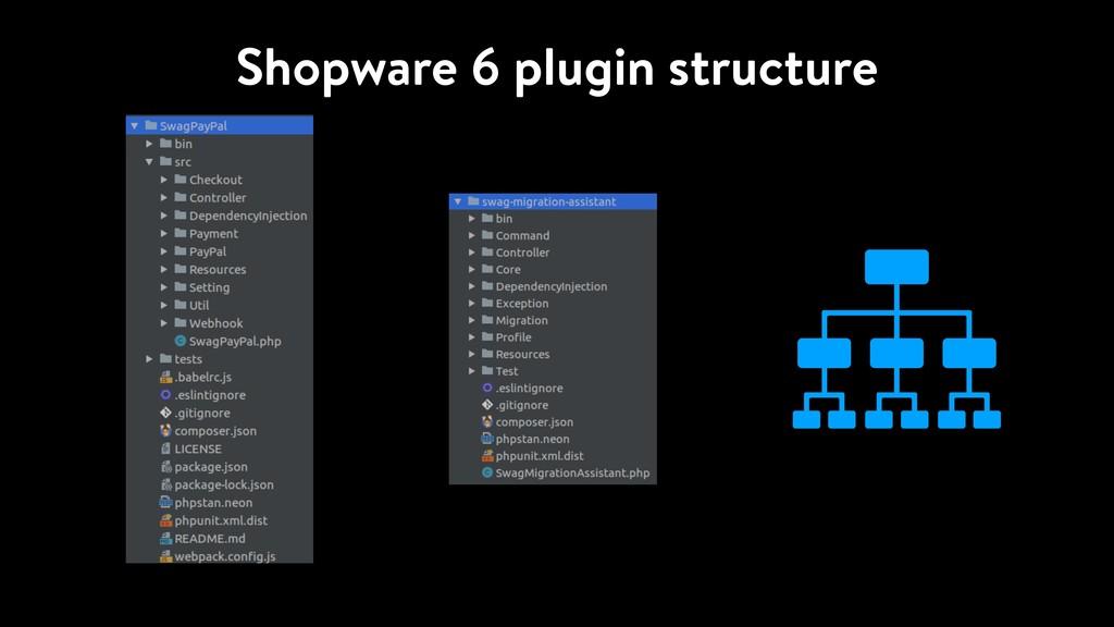 Shopware 6 plugin structure